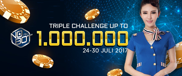 Triple Challenge Up To 1.000.000